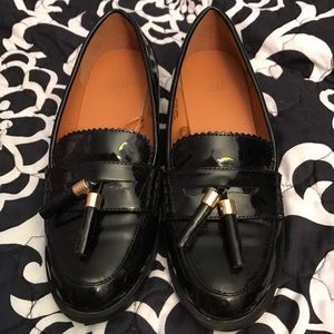 Black loafers h&m
